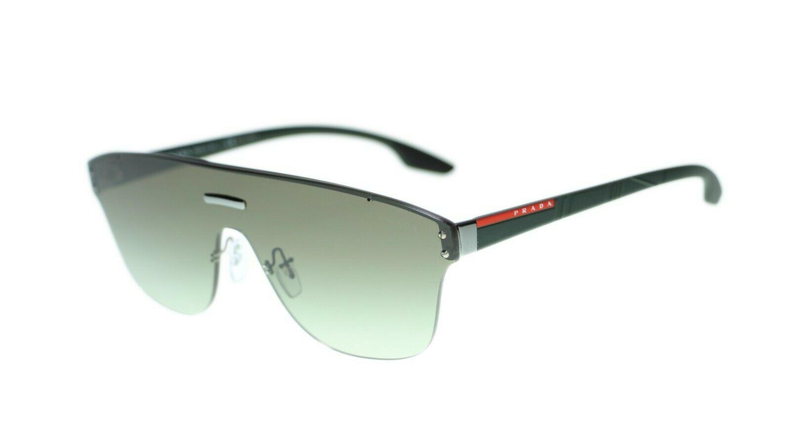Prada Men Sunglasses PS57TS Linea Rossa 43mm Authentic