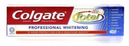 3 x Colgate Total Professional Whitening 110g - $27.96