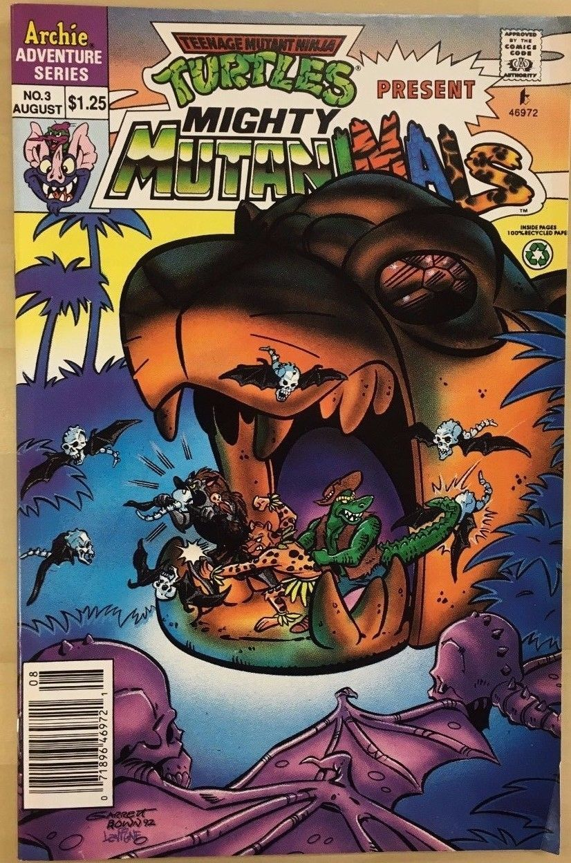 Primary image for TMNT present MIGHTY MUTANIMALS #3 (1992)  Archie Comics FINE-