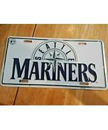 MLB Seattle Mariners License Plate, Genuine Merchandise (Metal) - $13.85