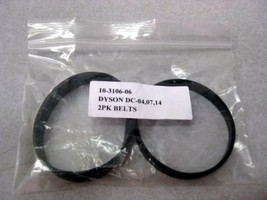 Dyson DC07,DC14, & DC33 Belt Pair for the Clutched Vacuums - $4.50