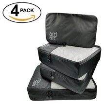 Packing Cubes Set of 4 Travel Luggage Packing Organizers Lightweight Wat... - $1.105,06 MXN