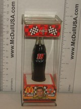 "Coke Coca-Cola McDonald's Mini Miniature 3.5"" Soda Bottle Bobby Labonte #18 1999"