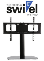 Premium Replacement Swivel Glass TV Stand/Base for Samsung UE55M5600 - $89.95