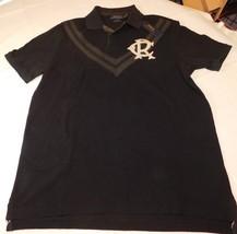 Polo Ralph Lauren Short Sleeve Polo Shirt XXL Classic Fit 944001 Boathouse Black - $59.89