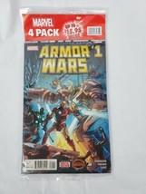 Marvel 4 Pack Comic Books 3 Random Comics and Armor Wars #1 Secret Wars - $14.52