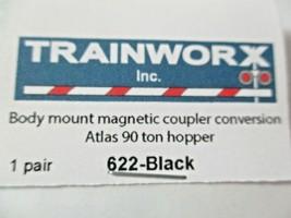 Trainworx Stock #622-Black Body Mount Magnetic Coupler See Description for Info  image 2