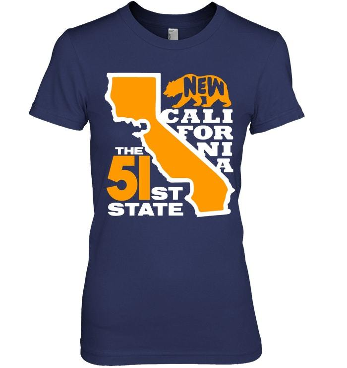 New California 51st State Shirt Conservative Gift