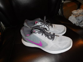 9M Nike Revolution 3 Running Sneakers Gray - $38.00
