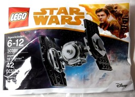 NEW Lego Star Wars 30381 Imperial Tie Fighter 42 Pcs Polybag New Solo - $9.69