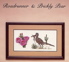 Roadrunner & Prickly Pear Heidi Poet Cross Stitch Pattern Leaflet NEW RARE - $3.57
