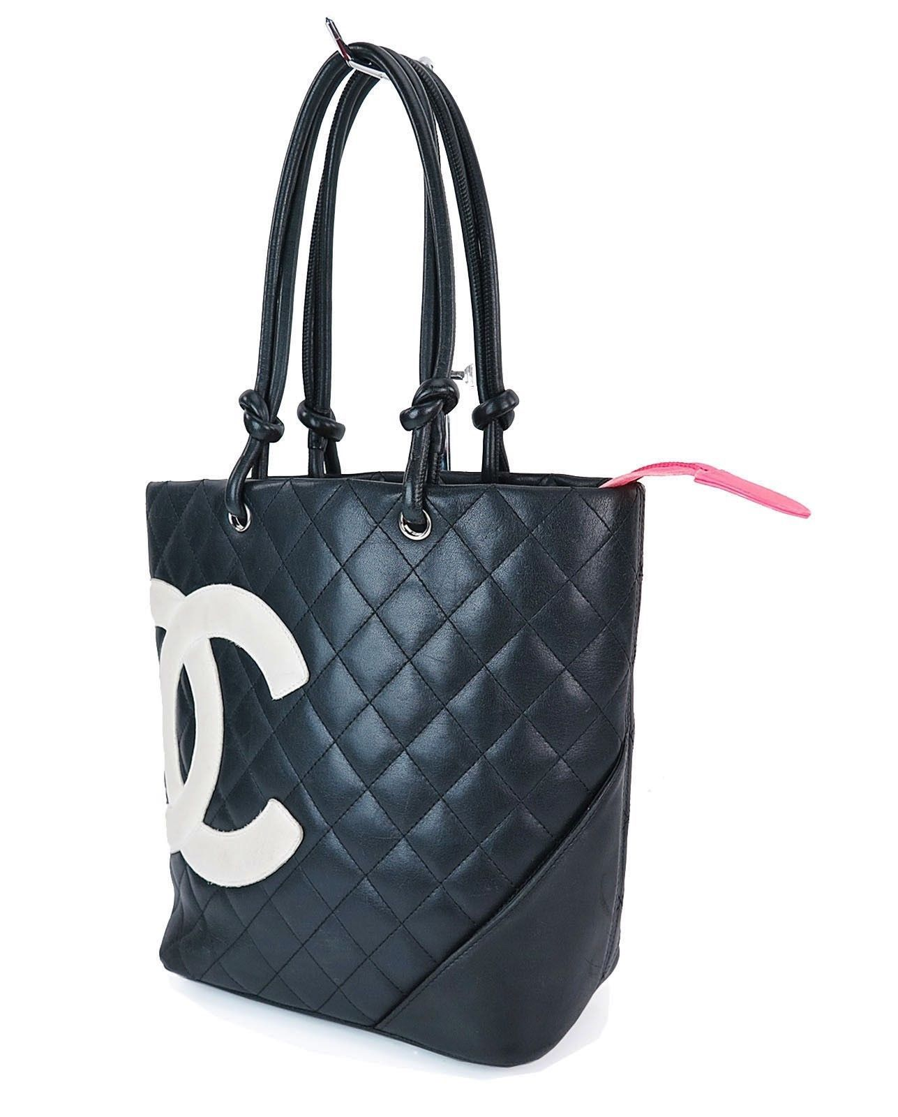 de6d5b263fe076 Quilted Black Leather Chanel Purse - New image Of Purse