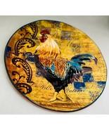 "Certified International RUSTIC ROOSTER ""Birchen Maran"" Dinner Plate 11 1... - $25.73"