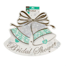 15.75 X 18.5 Bridal Shower 2 Sided Printed Cutout/Case of 36 - $70.19