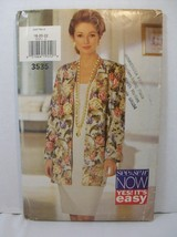 Butterick Sewing Pattern 3535 Misses Jacket & Pullover Dress Size 18-22 ... - $8.90
