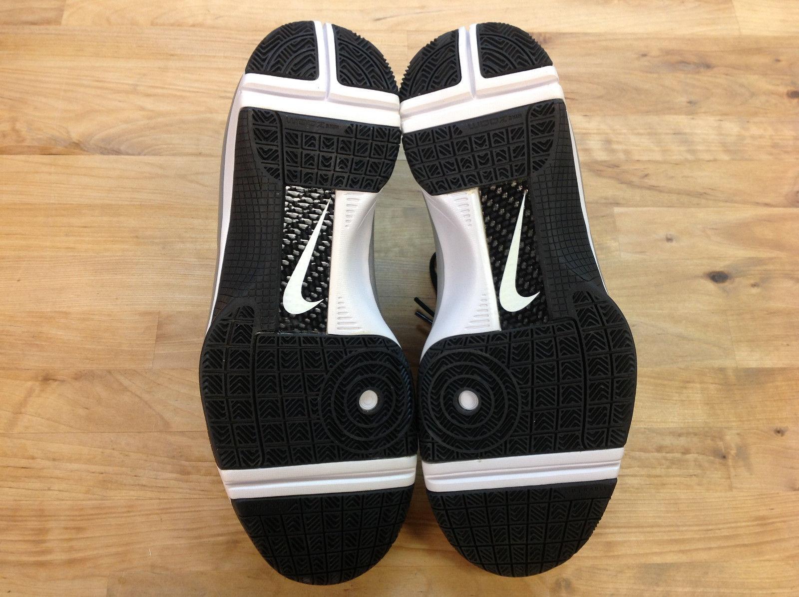 NIKE 367193 111 Women's Hyperize Black/White/Silver Shoes, Size US 11.5, EUR 44