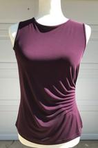 Calvin Klein Ladies PS top Aubergine NWT  - $22.00