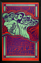 Jefferson Airplane Concert Poster Framed Highest Quality - $95.00