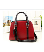 Ladies PU Leather Handbag New Tote Designer Style Celebrity Shoulder Bag... - $19.00
