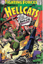 Our Fighting Forces Comic Book #107 Hunter's Hellcats, DC Comics 1967 VERY FINE- - $27.98