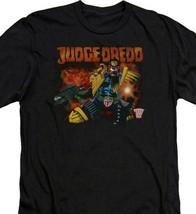 Judge Dredd 2000 AD T Shirt  vintage 70s 80s retro comic book graphic tee JD108 image 2