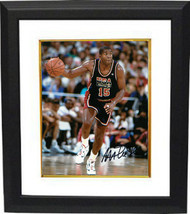 Magic Johnson signed Team USA Olympic Dream Team 8X10 Photo Custom Frame... - $123.95