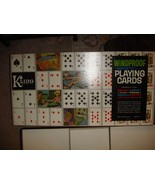 Vintage Windproof Magnetic Kling Playing Cards Board Game - $15.99