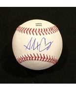 ALEX CORA AUTOGRAPHED Hand SIGNED O.L. BASEBALL Boston RED SOX w/COA & Cube - $79.99