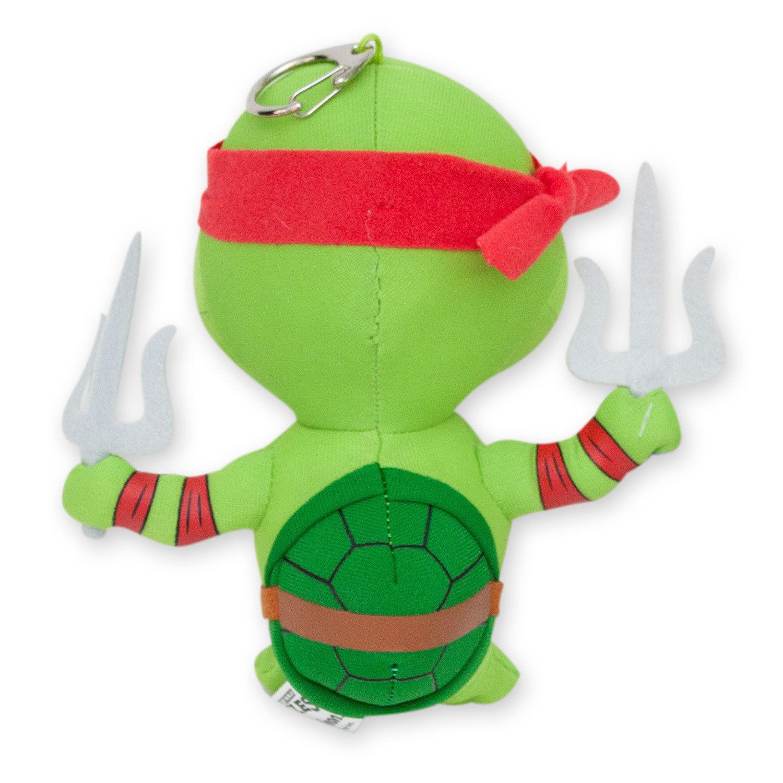 Teenage Mutant Ninja Turtles Raphael Plush Doll Keychain Green