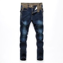 New Youth Fashion Comfortable Men's Casual Loose Jeans Pants Straight Simple Men image 1