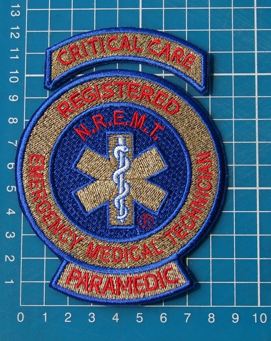 JCT EMS EMT MEDIC PARAMEDIC TACTICAL MEDICAL RESCUE PATCH EMBROIDERY