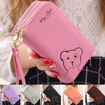 Fashion Lady Women Clutch Long Purse PU Leather Wallet Card Holder Handbag Bags