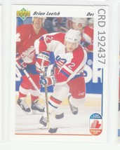 1991 Upper Deck Hockey  #35 Brian Leetch  192437 - $0.98