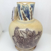 Doulton Sotheby's Judd Collection T Smith & Co Farmer Horse Holly Jug Pitcher - $417.09