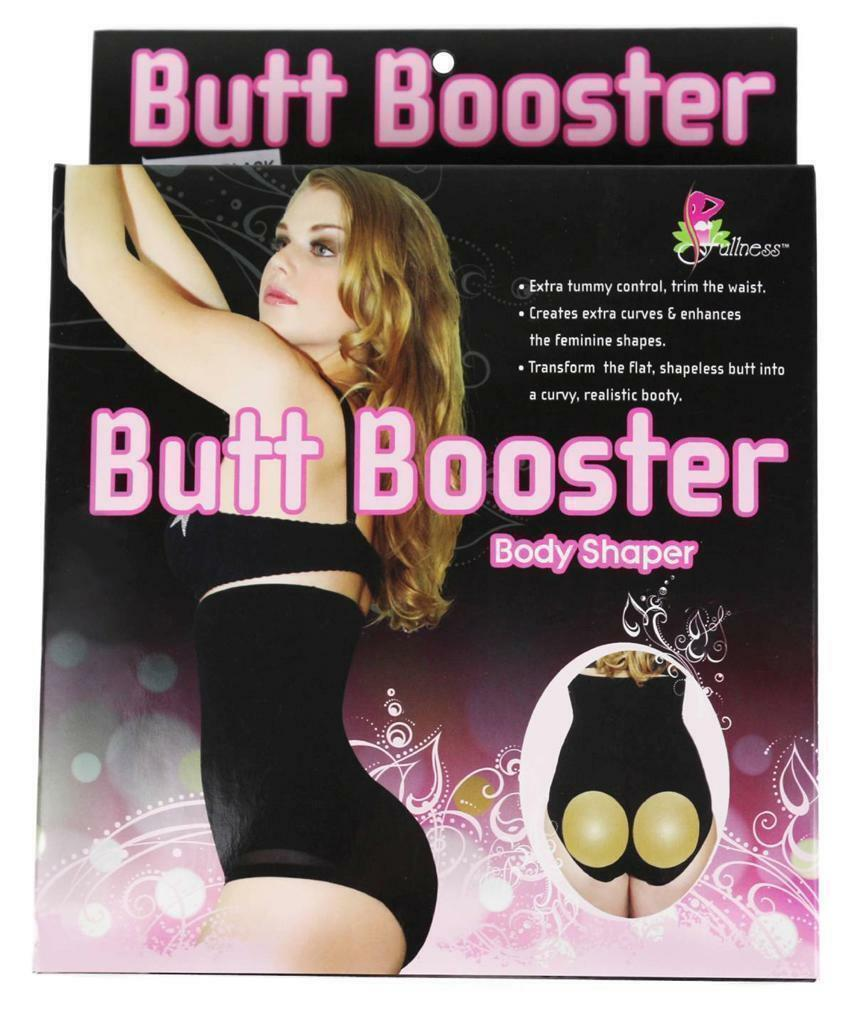 NEW WOMEN'S FULLNESS BUTT BOOSTER LIFTER SUPPORT SHAPER HIGH WAIST PANTY #8012