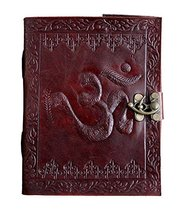 TUZECH Leather Journal Diary with Engraved (Om) - $19.59