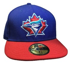 Toronto Blue Jays 59Fifty Fitted Hat Cap 7 1/2 - £15.88 GBP