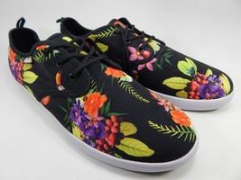 Sanuk Guide Funk Lace Up Men's Casual Shoes Size 8 M (D) Black / Amazon Tropic