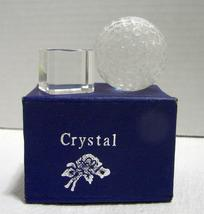 Crystal Golf Ball with Stand in Box - $7.99