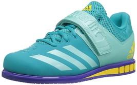 Adidas Women s Powerlift 3 Cross Trainer Shoes, Blue Size US 13.5 Medium - $39.00