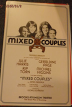 Rare MIX COUPLES POSTER - JULIE HARRIS, GERALDINE PAGE AND RIP TORN - $17.00
