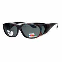 Polarized Lens OTG Sunglasses Fit Over Glasses Oval Rectangular Anti-Glare - $13.95