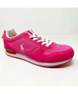 Polo Ralph Lauren Dash Hot Pink Junior Sneakers 990101J - $29.95