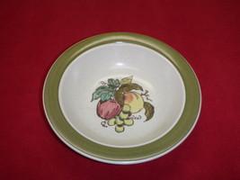 Metlox Poppytrail California Large Serving Bowl Apple Grape Pottery - $56.09
