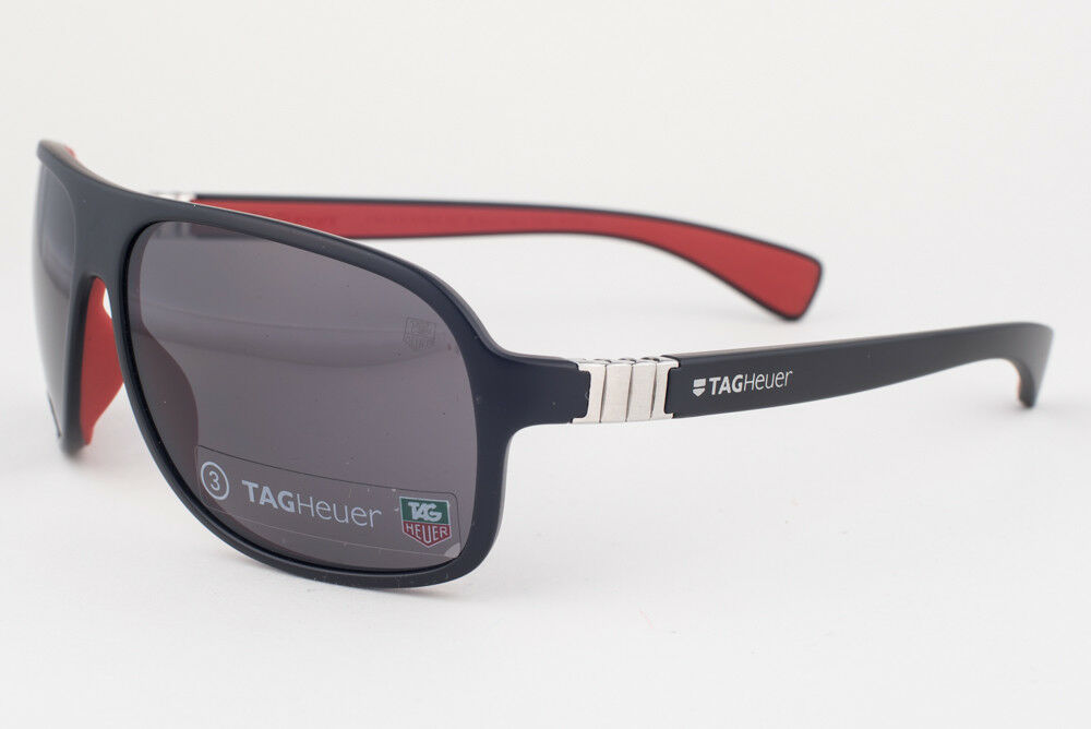 Primary image for Tag Heuer Urban Legend 9303 Black Red / Gray Sunglasses TH9303 112