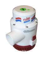 Rule 4000 Non-Automatic Bilge Pump - 24V  (56D-24) - $255.00
