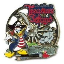 Disney Donald Duck Film and Television Treasure Island Limited Edition 750 pin - $14.69