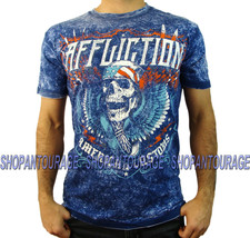 Affliction AC Thunderclap A12830 New Short Sleeve Reversible T-shirt for... - $49.48