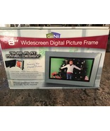 "GiiNii Widescreen Digital Picture Frame 8"" inch Like New Open Box  - $21.00"