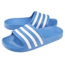 Adidas Adilette Aqua Slides Sandals Slipper Sky Blue/White F35541 - $29.99+